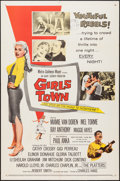 "Movie Posters:Bad Girl, Girls Town (MGM, 1959). One Sheet (27"" X 41""). Bad Girl.. ..."