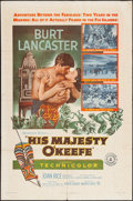 """Movie Posters:Adventure, His Majesty O'Keefe and Other Lot (Warner Brothers, 1954). OneSheets (2) (27"""" X 41""""). Adventure.. ... (Total: 2 Items)"""
