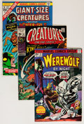 Bronze Age (1970-1979):Horror, Marvel Bronze Age Creature Comics Group (Marvel, 1970s) Condition:Average FN/VF.... (Total: 17 Comic Books)