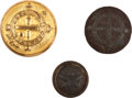 Militaria:Uniforms, Buttons: Group of Three Ordnance Department Buttons.... (Total: 3 )