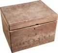 Militaria:Ephemera, Civil War Regimental Ballot Box....