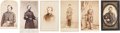 Photography:CDVs, Six Mostly Identified Union Soldier CDV's.... (Total: 6 Items)