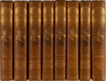 Books:Literature Pre-1900, [Shakespeare]. Gordon Browne [illustrator]. Henry Irving and FrankA. Marshall [editors]. The Works of William Shakespea... (Total:8 Items)