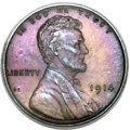 Proof Lincoln Cents, 1914 1C PR66 Brown PCGS....