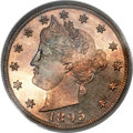 Proof Liberty Nickels, 1895 5C PR66 Cameo PCGS....