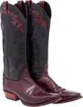 Miscellaneous, Western Apparel: Alligator Cowboy Boots....