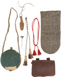 Arms Accessories:Tools, Group of Civil War Artillery Related Pieces Belonging to Hilang G.Campbell, 3rd Vermont Light Artillery. ... (Total: 6 Items)
