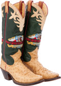 Miscellaneous, Western Apparel: Ft. Worth Stock Show Presentation Boots....