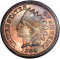 Indian Cents, 1864 1C Copper-Nickel MS66 NGC....