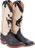 Miscellaneous, Western Apparel: Ft. Worth Stock Show Boots....