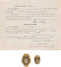 Arms Accessories, Two Missouri Lawman Badges. ... (Total: 3 )