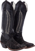Miscellaneous, Western Apparel: Elephant Hide Boots....
