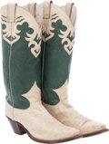 Miscellaneous, Western Apparel: Ostrich Boots....