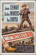 "Movie Posters:Western, Winchester '73 (Universal International, R-1958). One Sheet (27"" X 41""). Western.. ..."