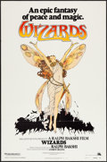 "Movie Posters:Animation, Wizards (20th Century Fox, 1977). One Sheet (27"" X 41"") Style B.Animation.. ..."