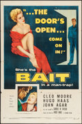 """Movie Posters:Bad Girl, Bait (Columbia, 1954). One Sheet (27"""" X 41""""). Bad Girl.. ..."""