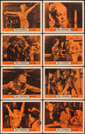 """Movie Posters:Bad Girl, Born Reckless (Warner Brothers, 1959). Lobby Card Set of 8 (11"""" X14"""") & One Sheet (27"""" X 41""""). Bad Girl.. ... (Total: 9 Items)"""