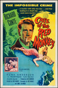 """Movie Posters:Mystery, The Case of the Red Monkey (Allied Artists, 1955). One Sheet (27"""" X41""""). Mystery.. ..."""