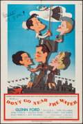 "Movie Posters:Comedy, Don't Go Near the Water (MGM, 1957). One Sheet (27"" X 41"").Comedy.. ..."