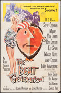 "Movie Posters:Exploitation, The Beat Generation (MGM, 1959). One Sheet (27"" X 41"") & LobbyCard Set of 8 (11"" X 14""). Exploitation.. ... (Total: 9 Items)"