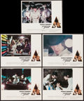 """Movie Posters:Science Fiction, A Clockwork Orange (Warner Brothers, 1971). Mini Lobby Cards (5) (11"""" X 14""""). Science Fiction.. ... (Total: 5 Items)"""