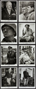 "Movie Posters:War, Patton (20th Century Fox, 1970). Photos (4) (7.5"" X 9.75"") , (23)(8"" X 10"") (8"" X 10""), and Mini Lobby Cards (4) (8"" X 10"")...(Total: 31 Items)"
