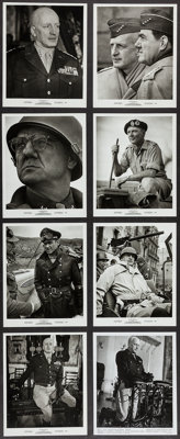"Patton (20th Century Fox, 1970). Photos (4) (7.5"" X 9.75"") , (23) (8"" X 10"") (8"" X 10""), a..."