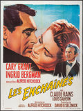 """Movie Posters:Hitchcock, Notorious (Les Films Galatee, R-1977). French Grande (47"""" X 63""""). Hitchcock.. ..."""