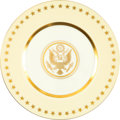 Political:Presidential Relics, Franklin D. Roosevelt: Official White House China....