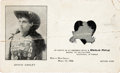 Advertising:Paper Items, Annie Oakley: A Scarce, Early Marlin Rifle Advertising Card. ...