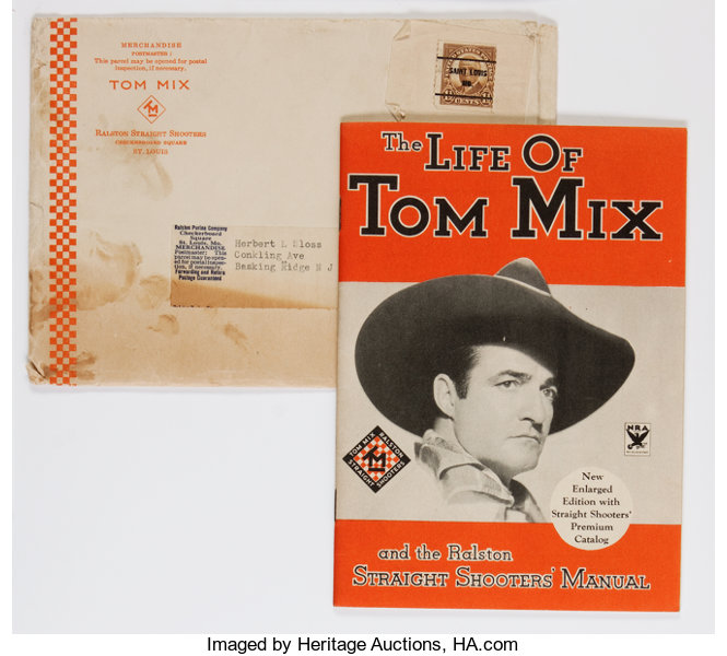 07431638b12d3 The Life Of Tom Mix and the Ralston Straight Shooters  Club