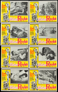 "Motor Psycho! (Eve Productions, 1965). Lobby Card Set of 8 (11"" X 14""). ... (Total: 8 Items)"