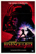 "Movie Posters:Science Fiction, Revenge of the Jedi (20th Century Fox, 1982). One Sheet (26 7/8"" X40 7/8"").. ..."