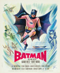 "Movie Posters:Action, Batman (20th Century Fox, 1966). French Petite (17.75"" X 22"") Boris Grinsson . Art.. ..."