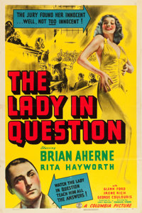 """The Lady in Question (Columbia, 1940). One Sheet (27"""" X 41"""")"""