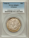 Commemorative Silver, 1936-D 50C Arkansas MS65+ PCGS. PCGS Population (426/227). NGCCensus: (341/89). Mintage: 9,660. Numismedia Wsl. Price for ...