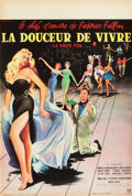 "Movie Posters:Foreign, La Dolce Vita (Consortium Pathe, 1959). French Petite (15.5"" X 23.5"").. ..."