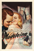 "Movie Posters:Drama, Madeleine (Eagle Lion, 1950). British One Sheet (27"" X 40"").. ..."