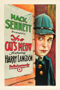 "Movie Posters:Comedy, The Cat's Meow (Pathé, 1924). One Sheet (27"" X 41"").. ..."