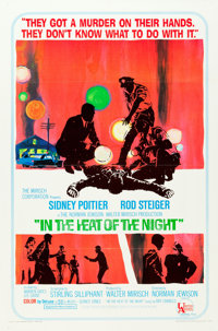 """In the Heat of the Night (United Artists, 1967). One Sheet (27"""" X 41"""")"""