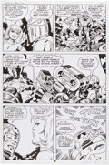 Original Comic Art:Panel Pages, Jack Kirby and Mike Royer Silver Star #3 Page 6 Original Art(Pacific, 1983)....