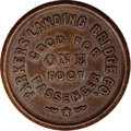 20th Century Tokens and Medals, Scarce Foot Passage Token From Pennsylvania....