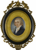 Fine Art - Painting, American:Antique  (Pre 1900), Walter Robertson (Irish/American, 1750-1802). Charles Robertson(1760-1821), Late 18th century. Framed watercolor on i...