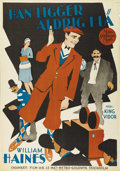 """Movie Posters:Comedy, Show People (MGM, 1928). Swedish One Sheet (27.5"""" X 39.5"""").Directed by King Vidor. Starring Marion Davies, William Haines, ..."""