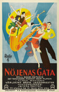 "Movie Posters:Musical, Syncopation (RKO, 1929). Swedish One Sheet (27.5"" X 39.5"").Directed by Bert Glennon. Starring Morton Downey, Sr., Barbara B..."