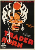 "Movie Posters:Action, Trader Horn (MGM, 1931). Swedish One Sheet (27.5"" X 39.5"").Directed by W.S. Van Dyke. Starring Harry Carey, Edwina Booth, D..."