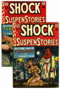 Golden Age (1938-1955):Horror, Shock SuspenStories #6 and 8 Group (EC, 1953) Condition: AverageVG+.... (Total: 2 Comic Books)