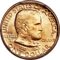 Commemorative Gold, 1922 G$1 Grant With Star MS66+ PCGS. CAC....