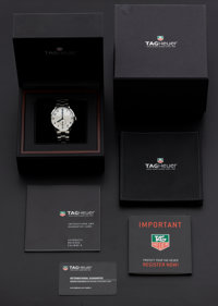 Tag Heuer Steel Carrera Automatic Wristwatch