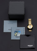 Timepieces:Wristwatch, Rado Automatic Wristwatch With Box & Papers. ...